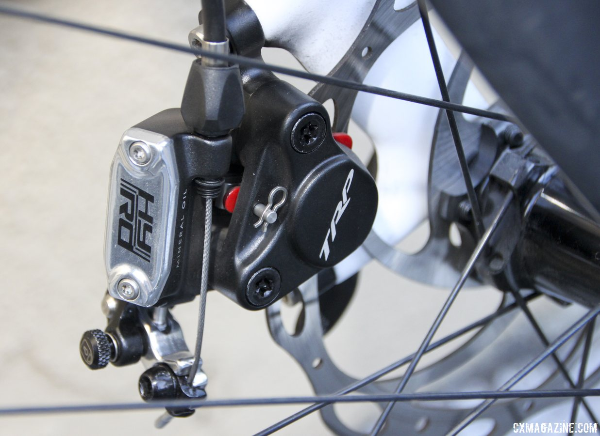TRP Brakes HY-RD cable-actuated hydraulic disc brake