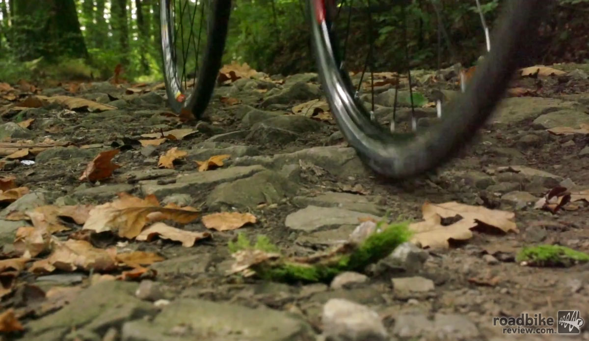 If you're the type that likes to venture onto rough roads, tubeless tires make a lot of sense.