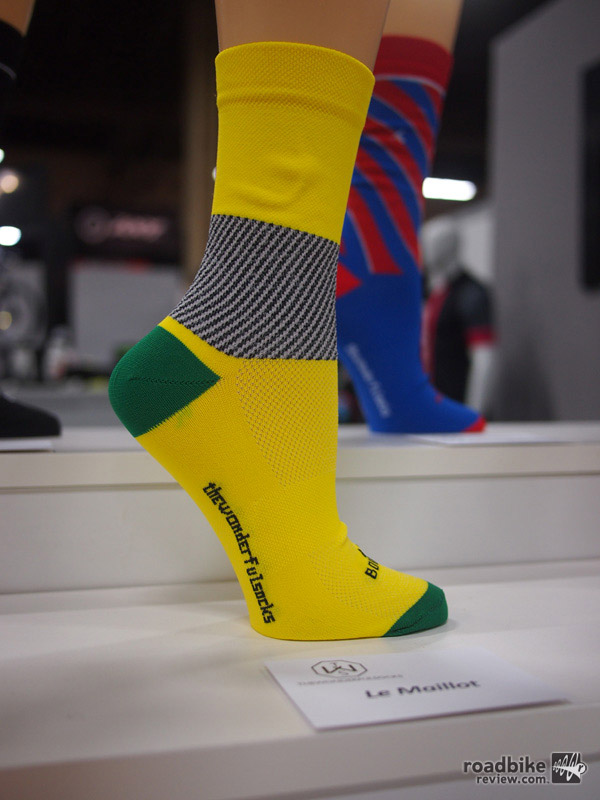 The Wonderful Socks combine comfort and fit with distinctive Italian style.