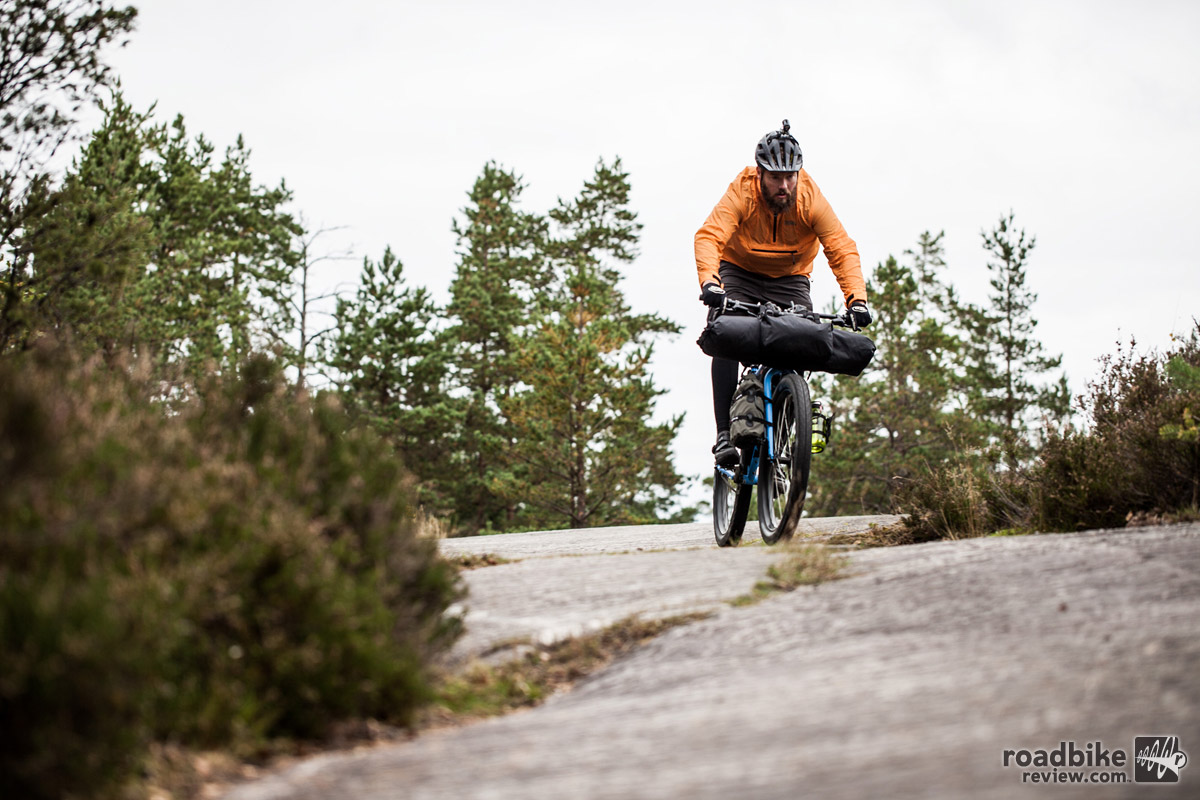 Singlespeed bike packing in Finland