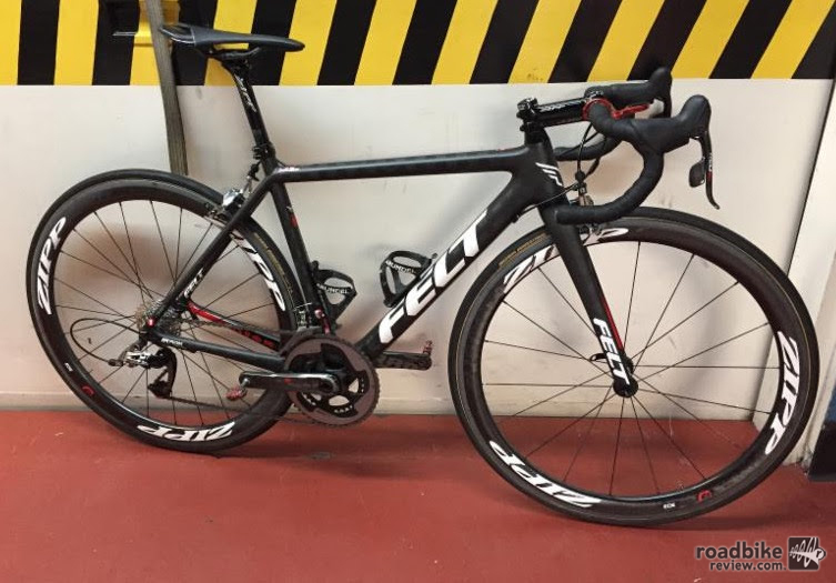 Sho-Air TWENTY20 pro team bikes stolen