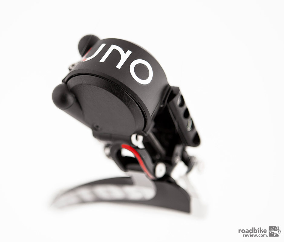 Rotor claims that the hydraulic shifting system will yield ultra smooth shifting actuation with no cable drag, which could greatly improve front derailleur shifting.