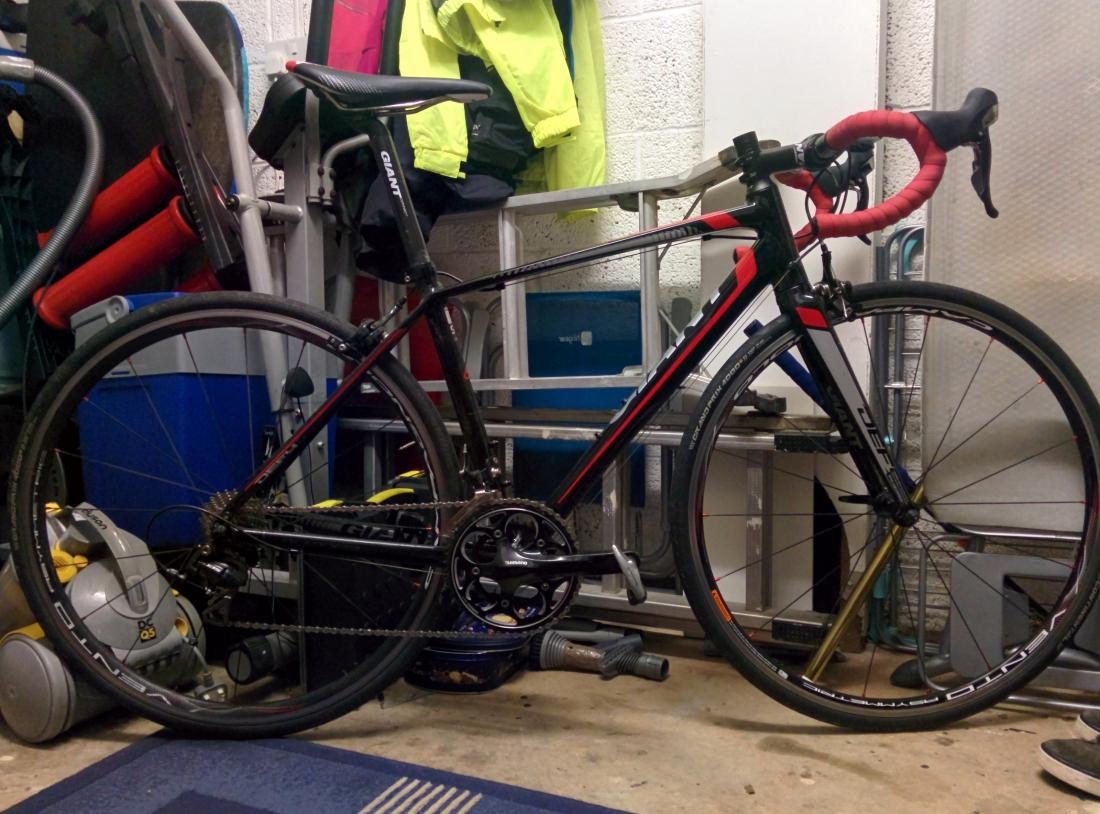 Setting My Road Bike Up For A Time Trial