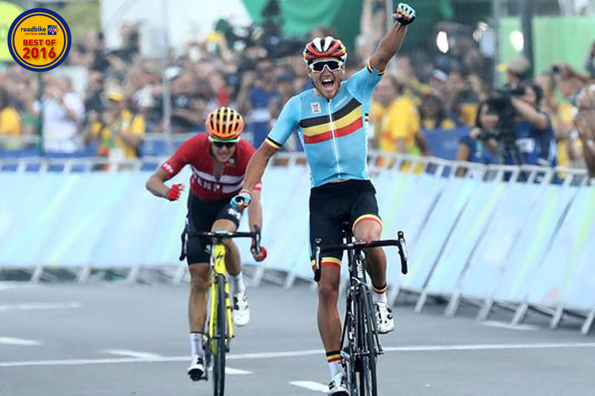 Greg van Avermaet was at his best on the biggest day, taking gold in Rio.