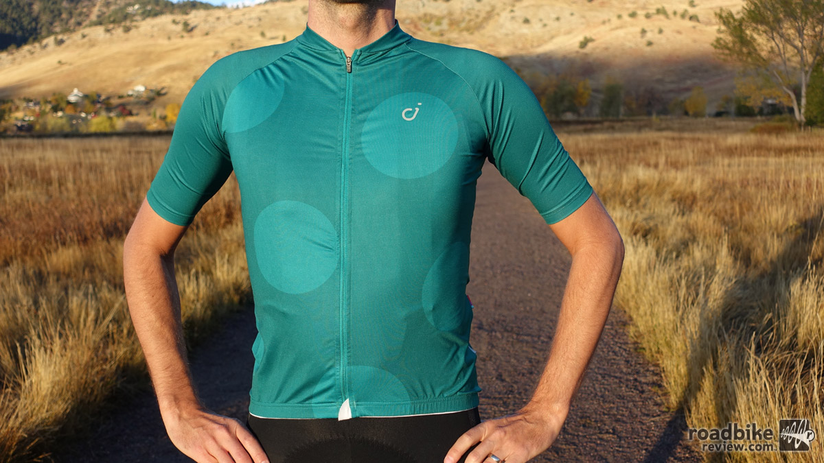 Velocio's Men's Ultralight Jersey is a great year-round short sleeve jersey.