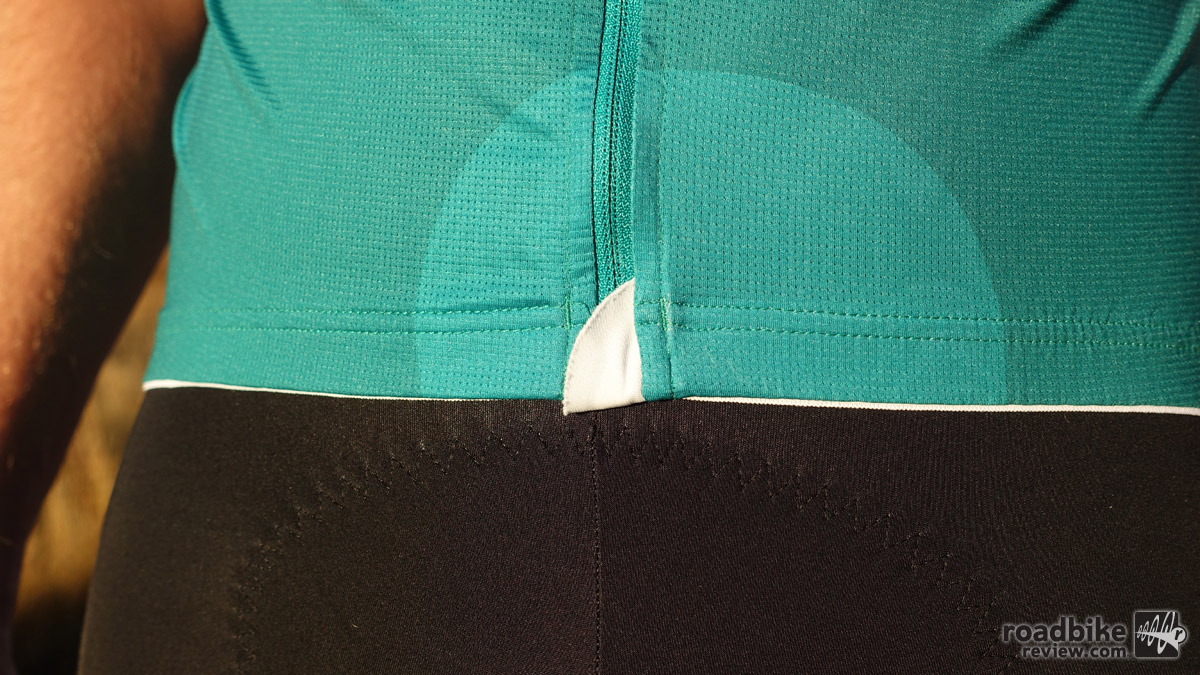 A subtle zipper garage at the base of the zip keeps material on your shorts from fraying.