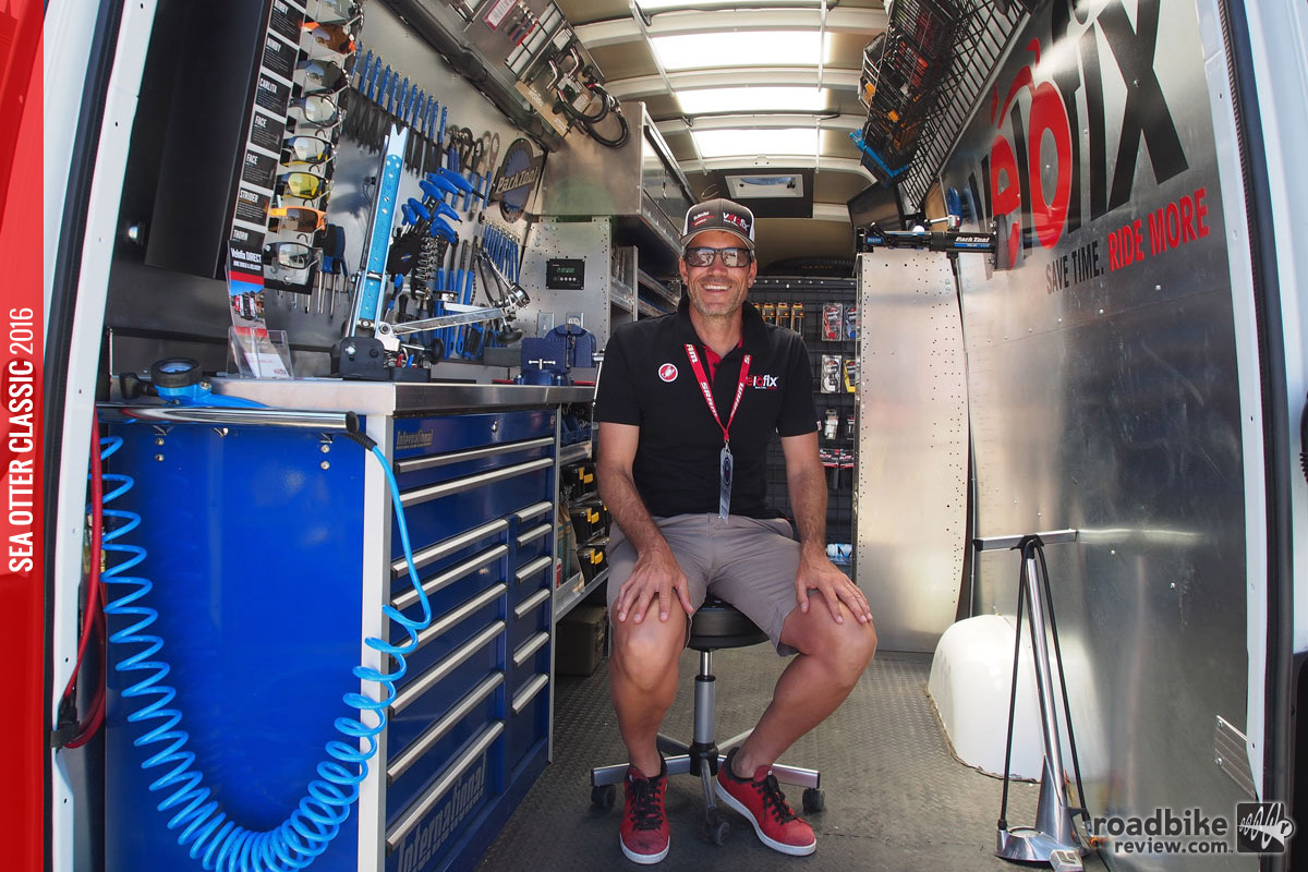 Velofix mobile bike shop comes to your driveway