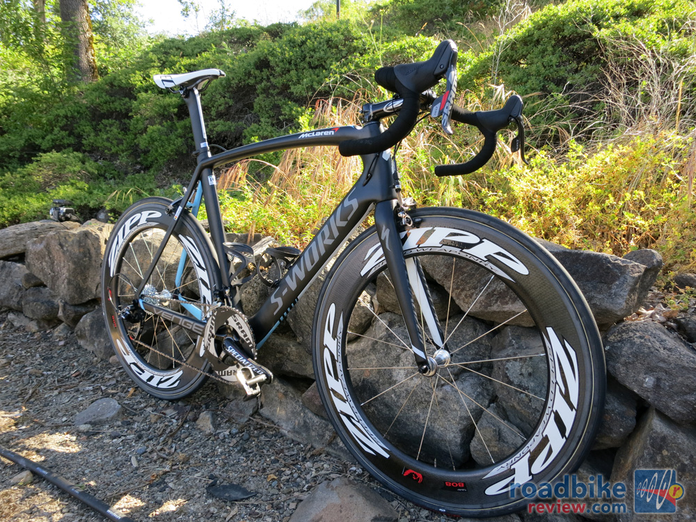 Tom Boonen's McLaren Venge with Zipp 808