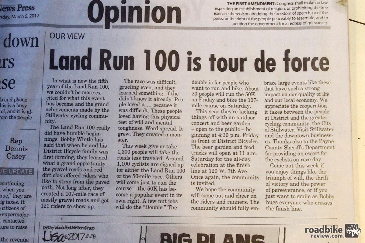 Racing the Land Run 100 with Vittoria