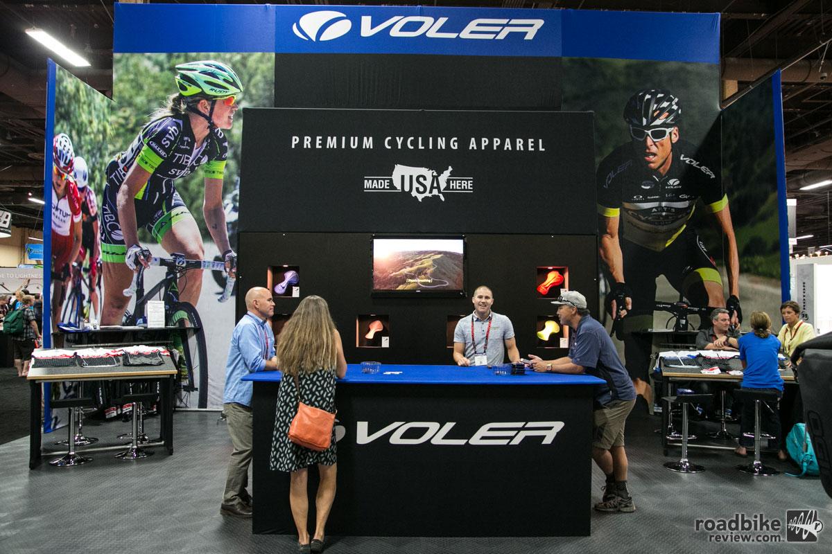 Voler Interbike 2015 Booth