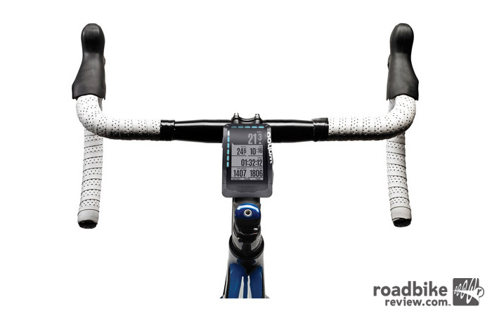 The ELEMNT is one of RoadBikeReview's favorite GPS enabled cycling computers with tons of great features and easy to use interface.