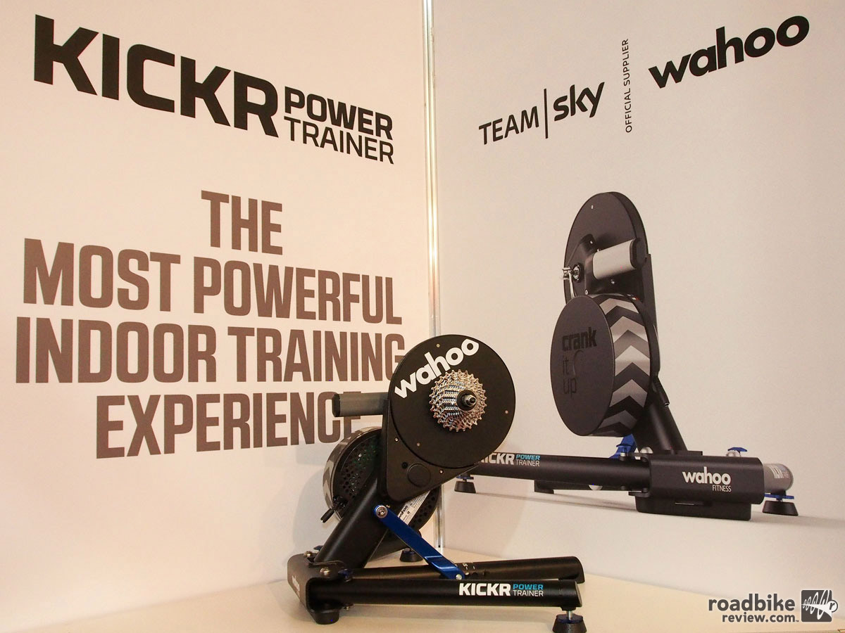 This just might be the ultimate home trainer set-up.