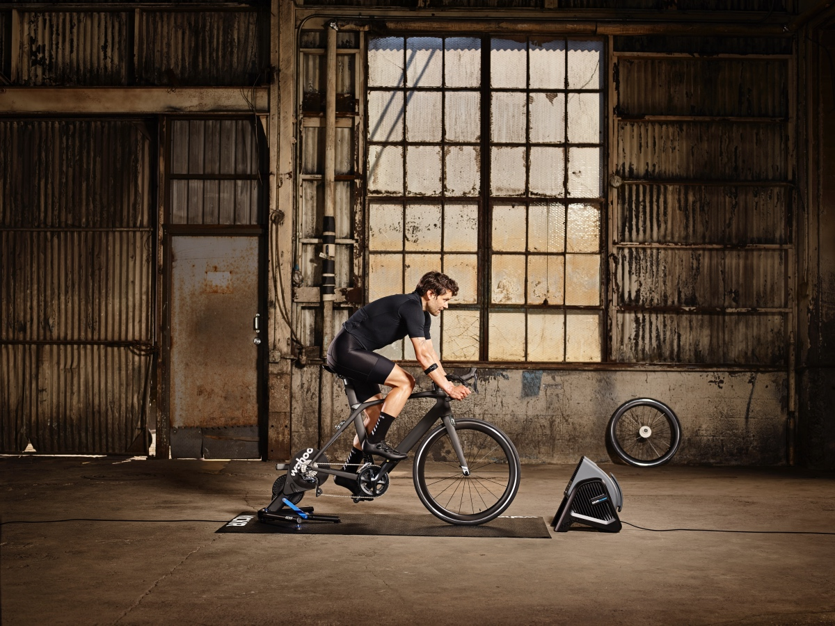 Wahoo offers an array of products to enhance the indoor training experience.
