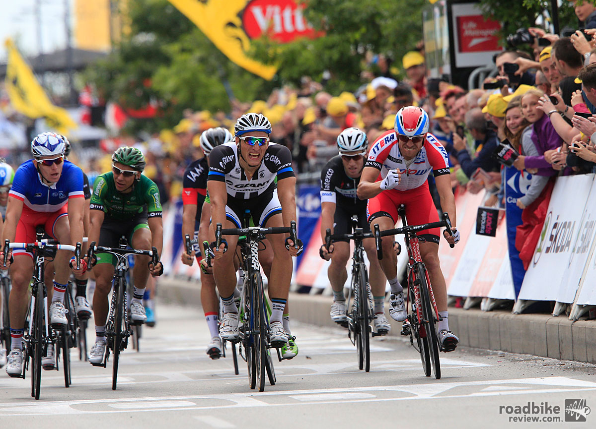Marcel Kittel Wins Stage 4