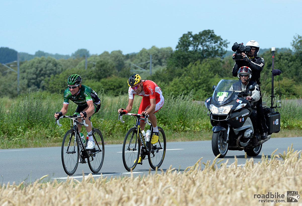 Thomas Voeckler Leads an Escape on Stage 4