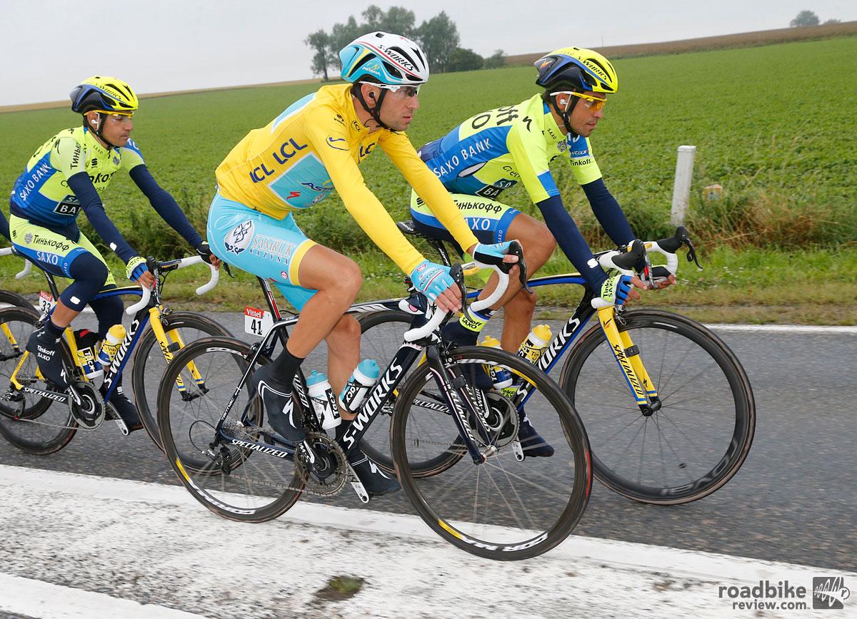 Nibali and Astana Teammates
