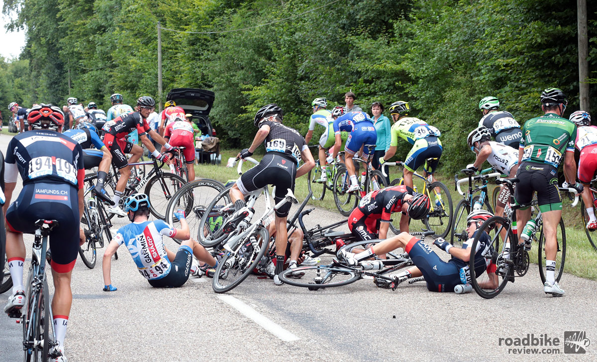 Tejay van Garderen Crash