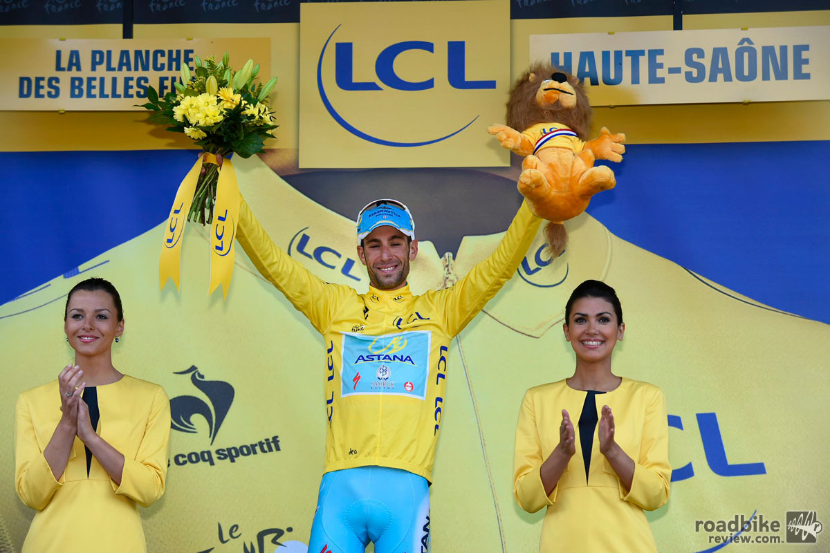 Nibali Yellow Jersey