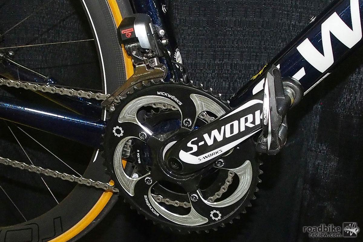 WickWerks 53/34 Chainrings