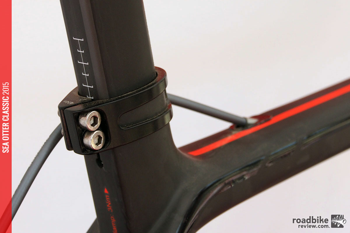 Gone is the integrated seatmast, replaced by a traditional post with aero-enhancing kamm-tail shaping.