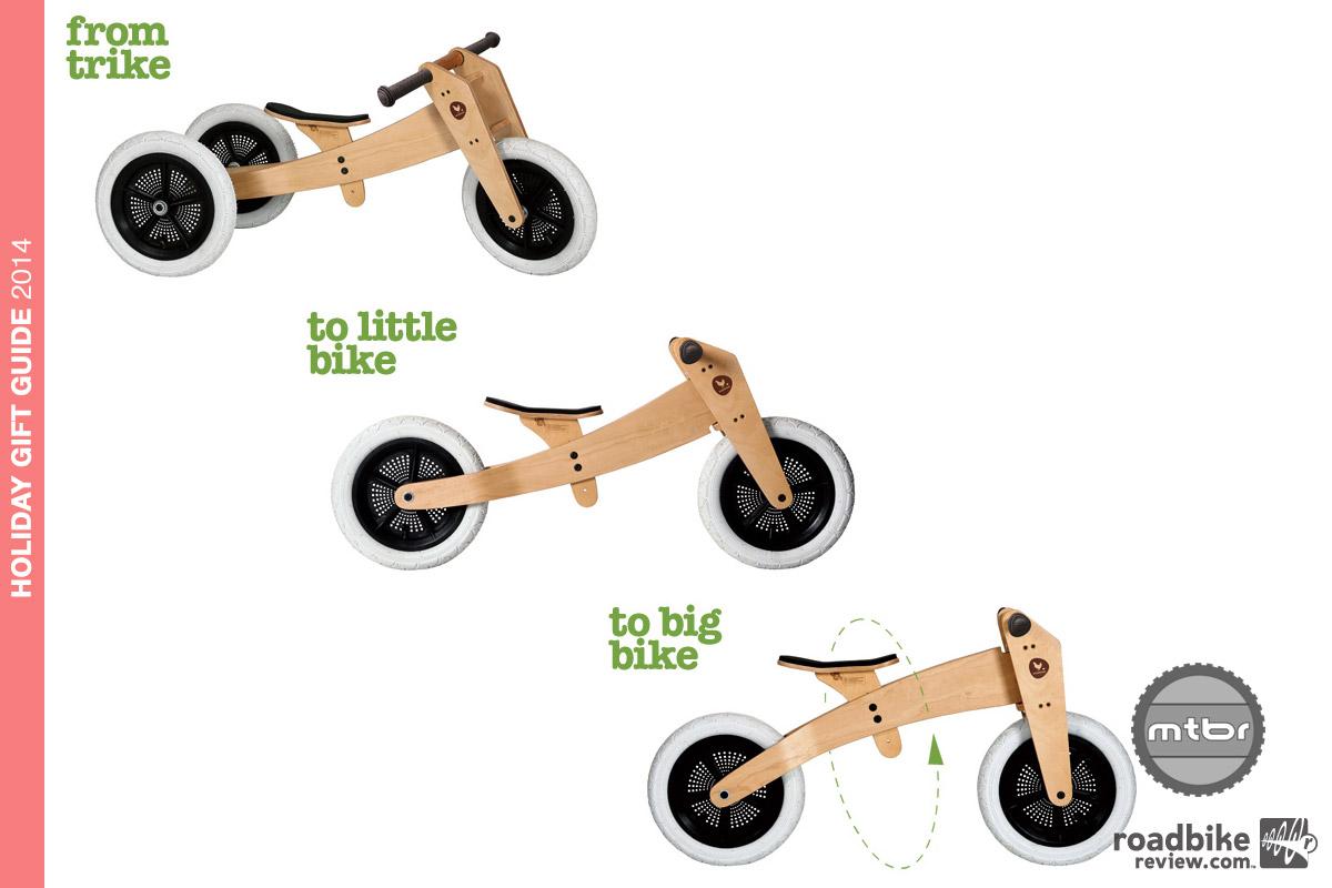 Wishbone Design - 3 in 1 balance bike