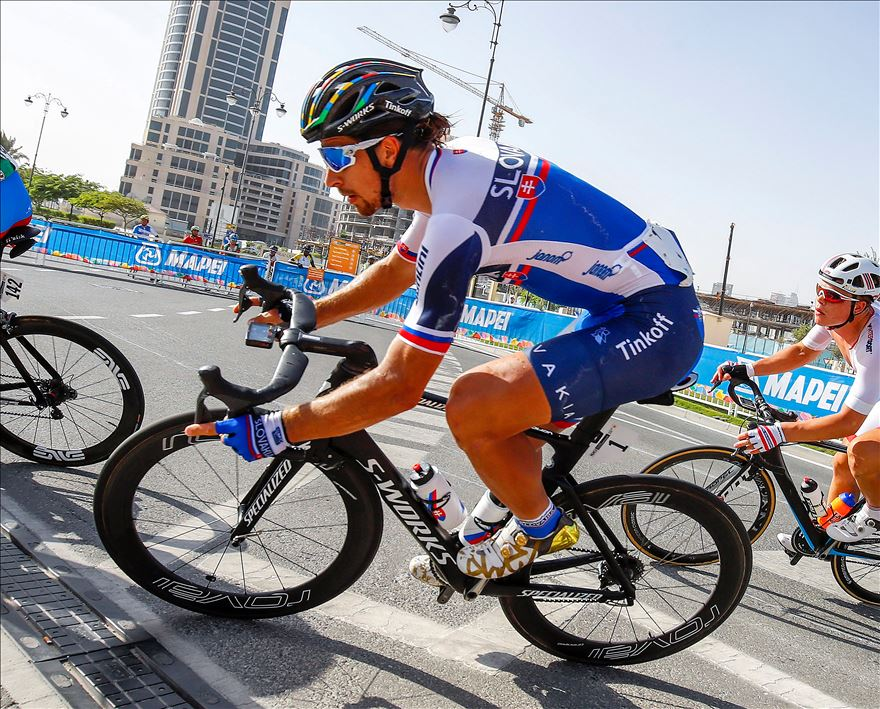 Sagan hung in the bunch until it was time to strike. Photo courtesy Specialized