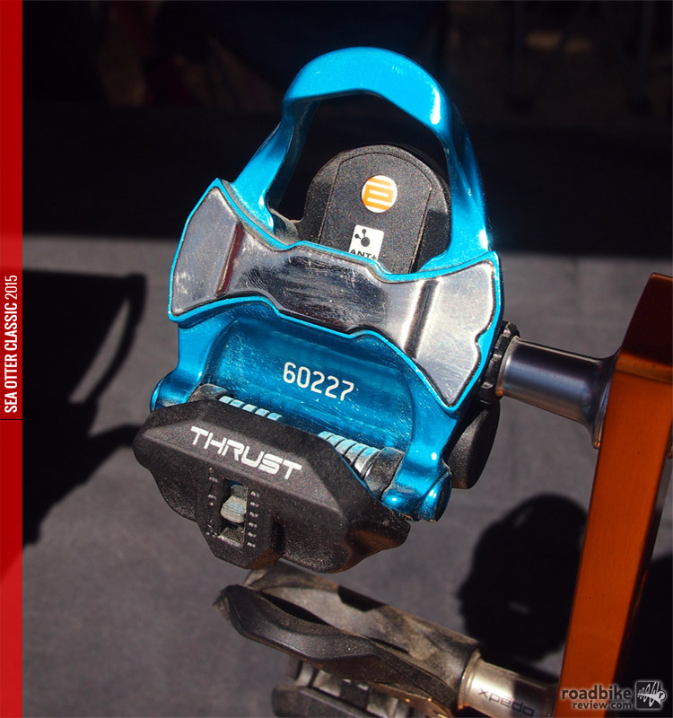 The silver portion of the pedal is actually a finely tuned pressure plate.