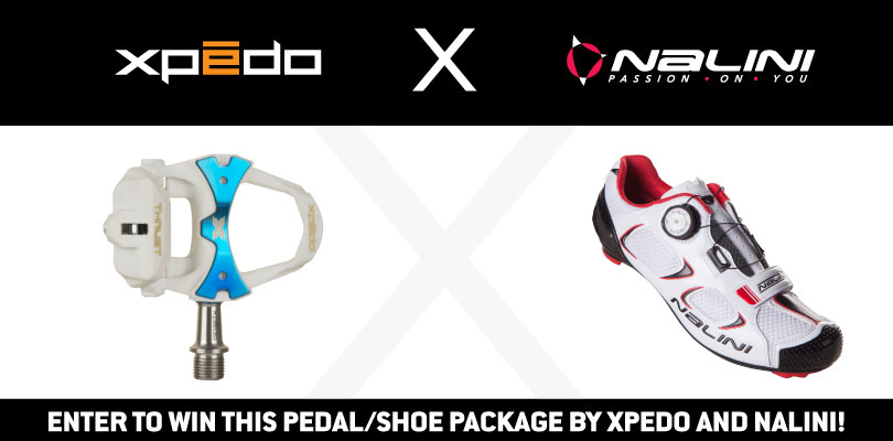 Contest: Win a Pedal/Shoe Package from Xpedo and Nalini