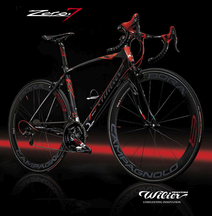 Zero 7 Lightest Amp Most Efficient Wilier Frame To Date