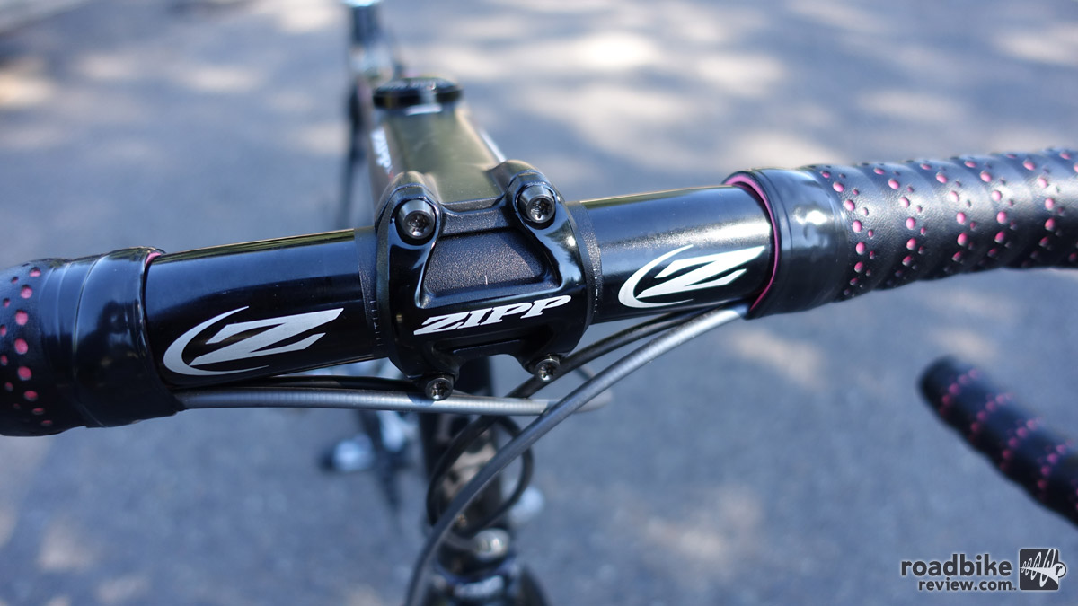 Zipp Service Course SL70 bars and SL Speed stem review