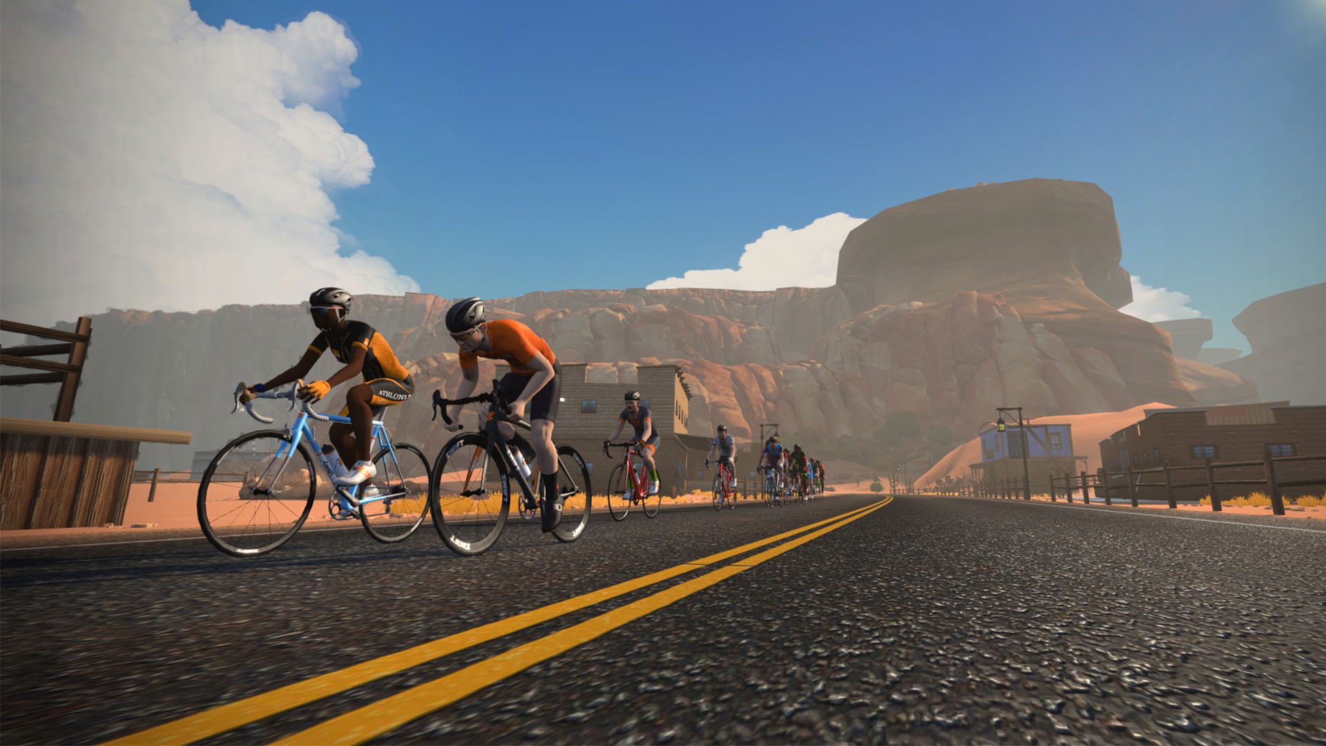 Zwift expands with Fuego Flats Desert | Road Bike News, Reviews, and