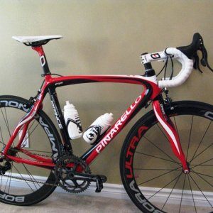 New 2009 Fire Pinarello Prince