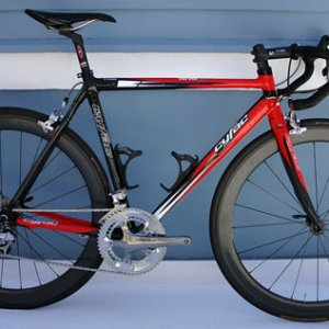 Cyfac Infini Carbone - Legal Sea Foods Team bike